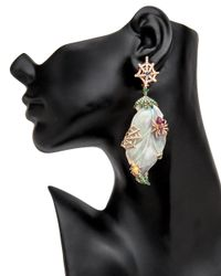 Wendy Yue - Multicolor Opal Spider Earrings - Lyst