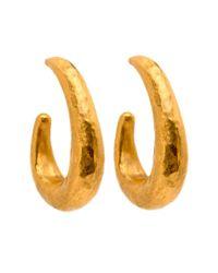 Yossi Harari - Metallic Roxanne Hoop Earrings - Lyst