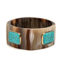 Ashley Pittman - Multicolor Kutega Light Horn Bangle - Lyst