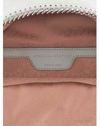 Stella McCartney - Falabella Mini Metallic Faux Leather Backpack - Lyst