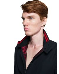Lanvin - Black Blouson for Men - Lyst