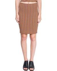 Opening Ceremony - Orange Mini Skirt - Lyst