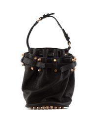 Alexander Wang | Black Small Diego Leather Bucket Bag | Lyst