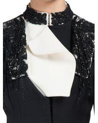 Alexander McQueen - Black Embellished Cropped Jacket - Lyst