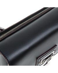 Proenza Schouler - Black Hava Leather Clutch - Lyst