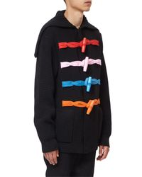 Givenchy - Black Toggle Fastening Wool Cardigan for Men - Lyst