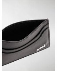 Tod's Black Logo Cardholder Wallet for men