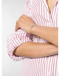Marc Jacobs - Metallic Logo Pendant Bracelet - Lyst