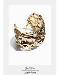 & Other Stories - Metallic Shoplifter Crease Please Bracelet - Lyst