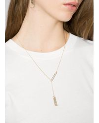 & Other Stories - Metallic Power Charm Necklace - Lyst