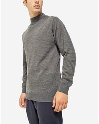 Stradivarius | Gray High Neck Sweater for Men | Lyst