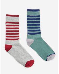 Stradivarius | Multicolor 2-pack Of Long Socks for Men | Lyst