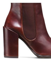 Stuart Weitzman - Brown The Sidemover Bootie - Lyst