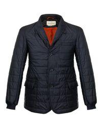 Oliver Spencer | Blue Lanark Quilted Navy Jacket for Men | Lyst