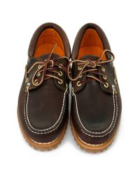 Timberland - Heritage 3-eye Classic Lug Brown Leather Shoes for Men - Lyst