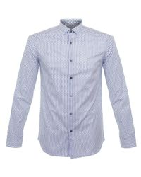 Matíníque   Allan Dot White Shirt for Men   Lyst