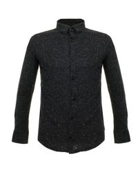 Armani Jeans | Specked Nero Black Shirt for Men | Lyst