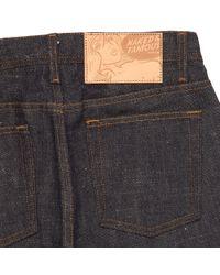 Naked & Famous - Blue Indigo Weird Guy Okayama Spirit 3 Selvedge Jeans for Men - Lyst