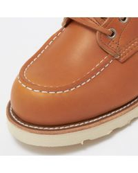 Red Wing - Brown 9875 Irish Setter 6'' Moc Toe Boot - Gold Russet for Men - Lyst