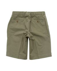 Hackett - Hackett Core Stretch Military Green Shorts for Men - Lyst