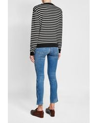 MiH Jeans - Blue Merino Wool Pullover - Lyst