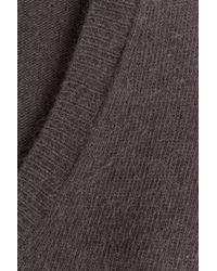 American Vintage - Gray Pullover With Angora And Wool - Lyst
