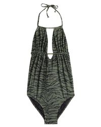 Melissa Odabash | Green Printed Maillot Bathing Suit | Lyst