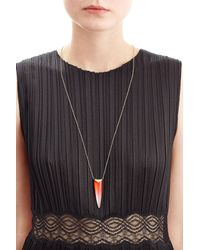 Alexis Bittar | Metallic Liquid Spear Pendant Necklace | Lyst