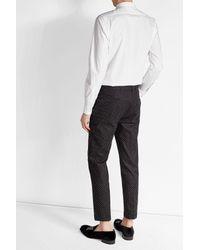 Alexander McQueen - Multicolor Besticktes Hemd aus Baumwolle for Men - Lyst