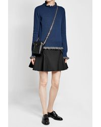 MANU Atelier - Black Micro Pristine Leather Shoulder Bag - Lyst