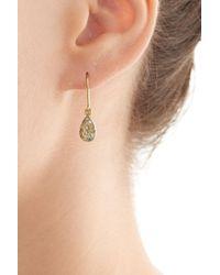 Carolina Bucci - Metallic 18k Yellow Gold Earrings With Diamonds - Lyst