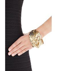 Aurelie Bidermann | Metallic Talitha 18kt Gold Plated Bracelet | Lyst