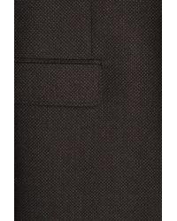 HUGO - Black Wool Blazer for Men - Lyst