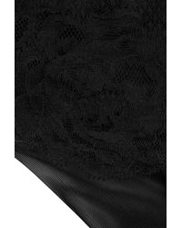 La Perla - Black Lace French Briefs - Lyst