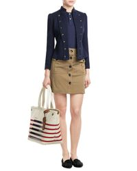 Marc By Marc Jacobs | Natural Large Striped Tote | Lyst