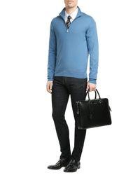 Etro | Blue Woven Silk Tie for Men | Lyst