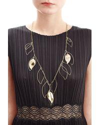 Aurelie Bidermann   Metallic Vera 18kt Yellow Gold Plated Necklace   Lyst