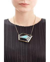 Alexis Bittar | Multicolor Small Floating Kite Necklace | Lyst