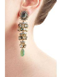 Alexis Bittar - Multicolor 10kt Vergoldete Ohrringe - Lyst