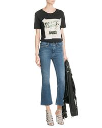 DSquared² - Black Printed Cotton T-shirt - Lyst