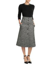 Burberry   Black Embellished Cashmere Blend Pullover   Lyst