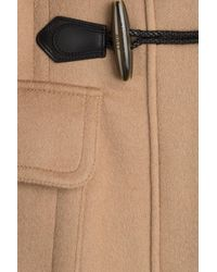 Burberry Brit - Brown Blackwell Wool Duffle Coat With Fur - Lyst