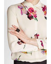 Etro   Metallic Embellished Ring   Lyst