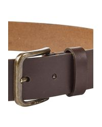 Etro - Blue Leather Belt for Men - Lyst