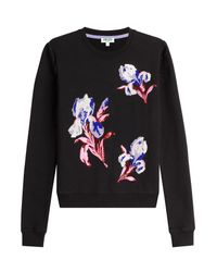 KENZO | Multicolor Embellished And Embroidered Cotton Pullover | Lyst