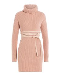 Valentino - Multicolor Virgin Wool Turtleneck Pullover With Cashmere - Lyst