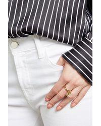 Marc Jacobs - Metallic Embellished Ring - Lyst