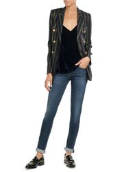 Citizens of Humanity - Blue Slim Straight Leg Jeans - Lyst