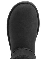 UGG - Black Mini Bailey Bling Boots With Swarovski Crystal - Lyst