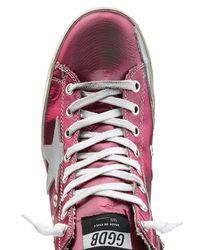 Golden Goose Deluxe Brand | Multicolor Francy Metallic Leather Sneakers | Lyst